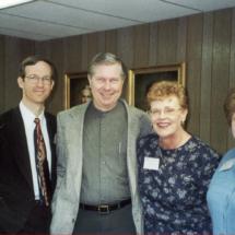 Brock Lovett, Larry Johnson, Cathy and Lynda Tinsley; 2000