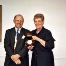 David Mooney and Cathy Wright
