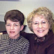 Lynn Singleton and Carolyn Baxter