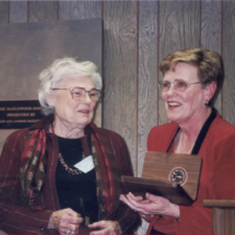 Mary Jo Merriman and Cathy Wright