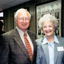 Ray and Betty Mann; 1999